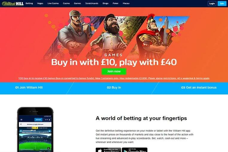 William Hill Promo Codes for 2019 and How to Use Them